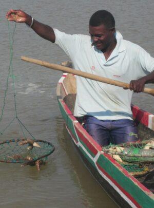 La pêche à la balance